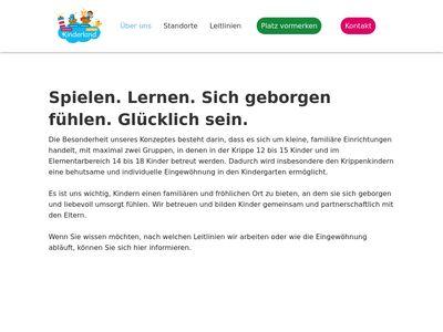 Kinderland Hamburg - Kiwi Mäuse Kindergarten
