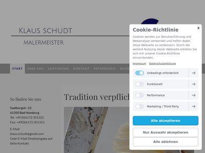 Malerfachbetrieb Klaus Schudt