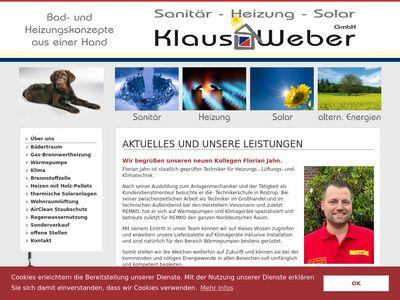 Klaus Weber GmbH Sanitär - Heizung - Solar