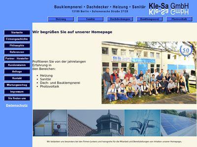 Kle-Sa Klempner und Sanitär GmbH