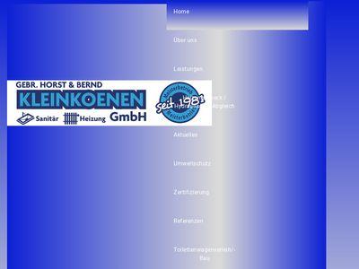 Gebr. Horst & Bernd Kleinkoenen GmbH