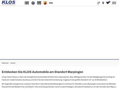 KLOS Automobile GmbH Marpingen-Urexweiler