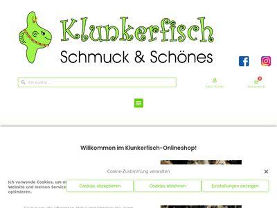 Klunkerfisch - Schmuck & Schönes