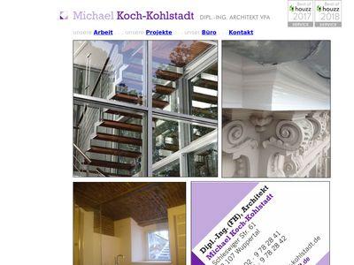 Koch-Kohlstadt Michael Dipl.-Ing. Architekt