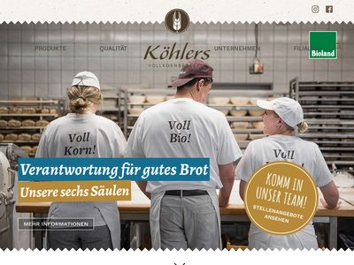 Köhlers Vollkornbäckerei