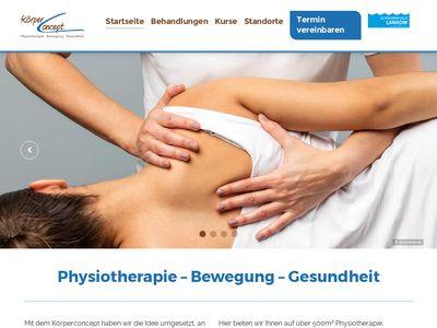 Physiotherapie Körperconcept