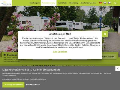 Komfort Camping Senftenberger See