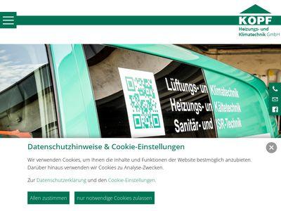 Kopf - Heizungs- und Klimatechnik GmbH