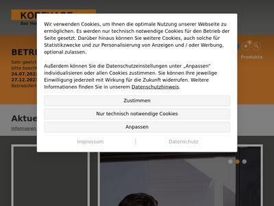 Korfhage GmbH Bäder Heizung und Sanitär