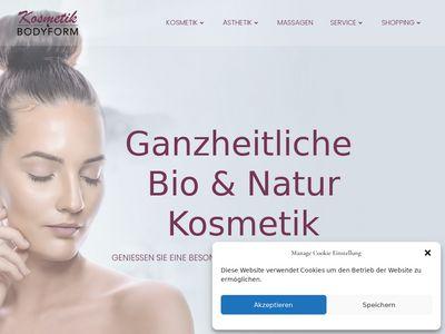 Kosmetik + Bodyform Schönheitssalon