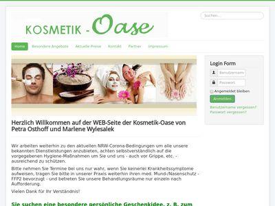 Kosmetik Oase Osthoff
