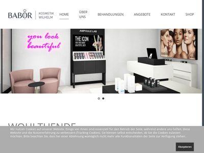 Babor Beautyworld Kosmetikinstitut Wilhelm