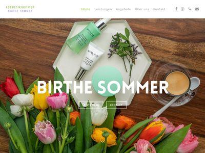 Kosmetikinstitut Birthe Sommer