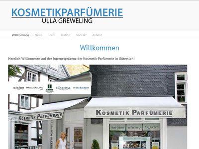 Kosmetik Parfümerie Ulla Greweling