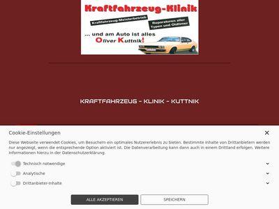 Kraftfahrzeug - Klinik