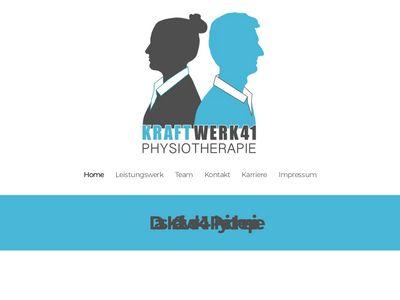 Kraftwerk41 Physiotherapie