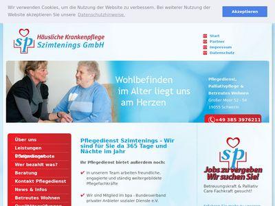 Häusliche Krankenpflege Szimtenings GmbH