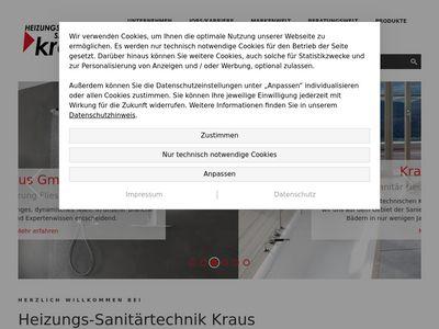 Heizungs-Sanitärtechnik Kraus GmbH