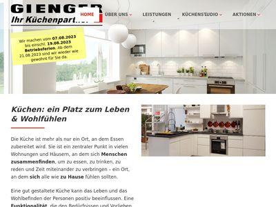 Gienger Küchenstudio