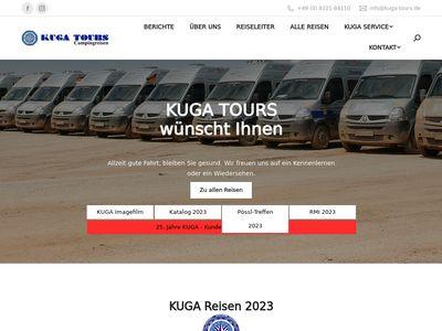KUGA GmbH - KUGA TOURS Campingreisen
