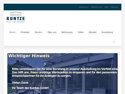 Fenster und Türen Kuntze GmbH
