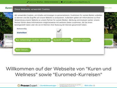 Kuren und Wellness Kurreisebüro