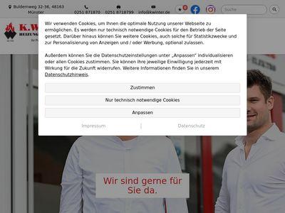 Winter K. GmbH Heizung Sanitär und Elektro