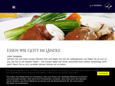 L -catering
