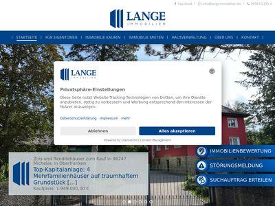 Lange Immobilien Inh: Jan Lange