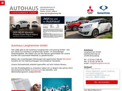 Autohaus Langhammer & Lessing GmbH