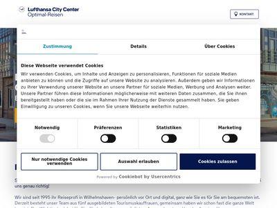 Optimal-Reisen Lufthansa City Center
