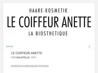 Friseur Le Coiffeur Anette
