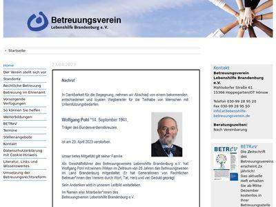 Betreuungsverein Lebenshilfe Brandenburg