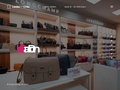Leder-Chic am Dom Ilse Schüttler