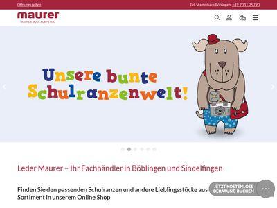 Leder Maurer Inh. Ralf Maurer