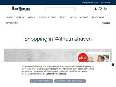 Modehaus Leffers - Wilhelmshaven