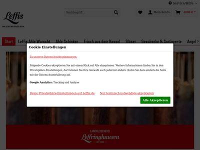 Landfleischerei Leffringhausen