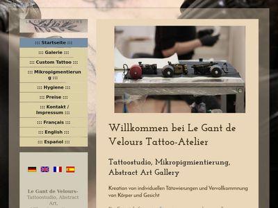 Le Gant de Velours Tattoo-Atelier