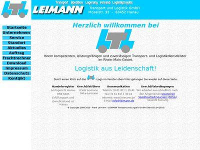 Leimann Transport und Logistik GmbH