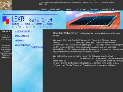LEKRI-Sanitär GmbH