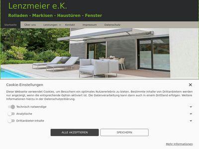Lenzmeier e.K. Rollläden-Markisen-Fenster