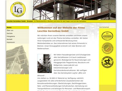 Bremen Leschke Gerüstbau