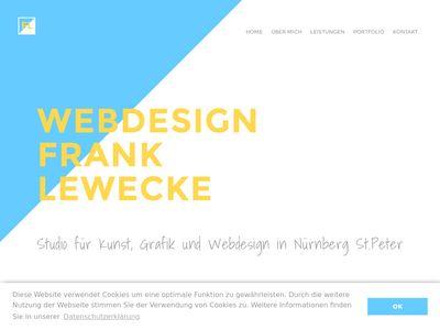 Webdesign Frank Lewecke
