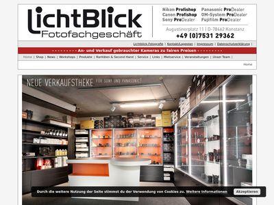 LichtBlick Fotofachgeschäft