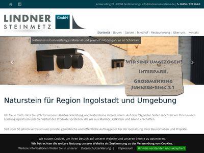 Lindner GmbH, Steinmetzbetrieb