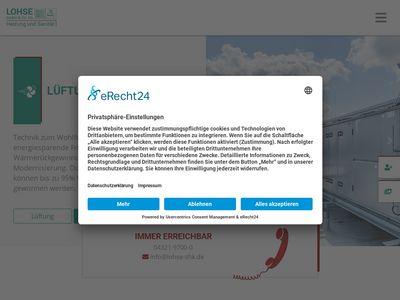 Lohse GmbH Heizung und Sanitär