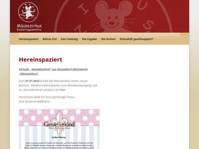 Mäusezirkus Kindertagesstätte
