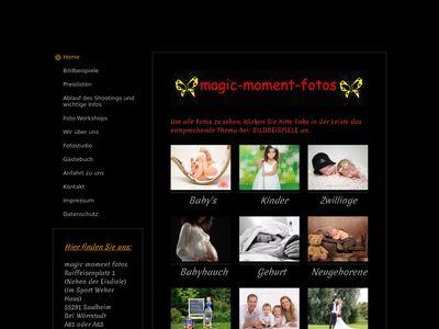 Magic moment fotos