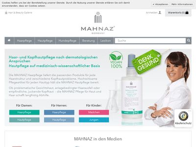 Mahnaz - Hair + Beauty