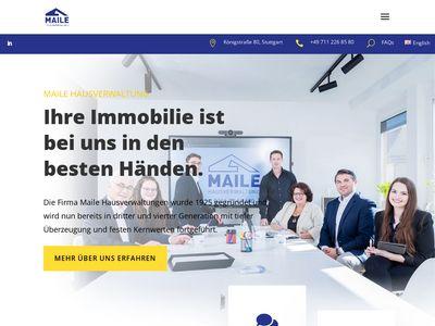 Maile Hausverwaltung Stuttgart